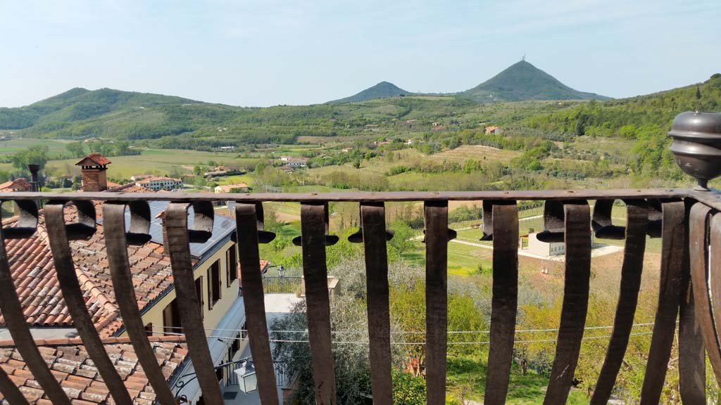 Vista dalla Casa del Petrarca / View from Petrarca\'s house