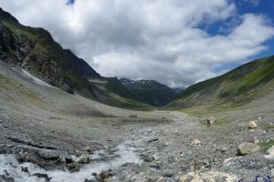 IMGP5835__glacier de vaud-sorgente di Dora di Valgrisenche_verso rif brzzi