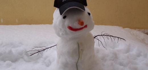 ScriCal il pupazzo di neve