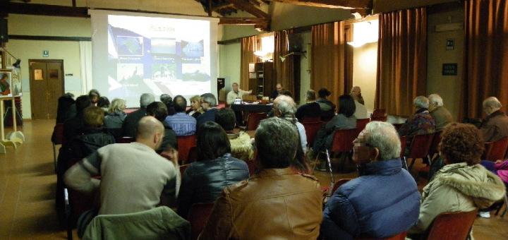 L'auditorium di Gorgonzola per Viaggio in Alaska
