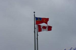 IMGP0774_Calgary_bandiera canada e alberta