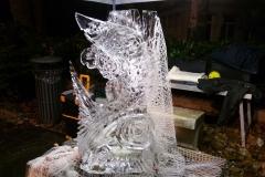 Abano: sculture ghiaccio