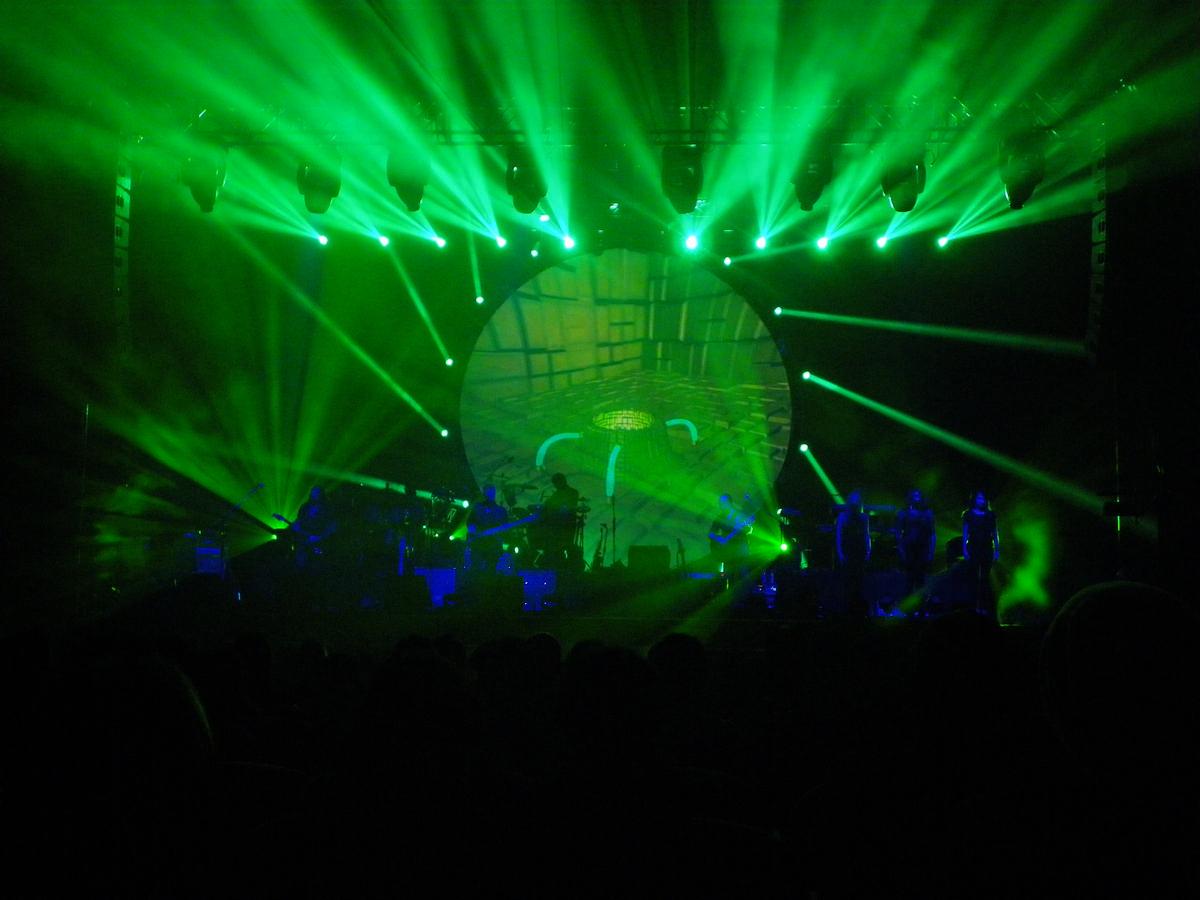 Effetti di luci, laser e fumi