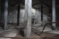 Il silos all'interno del quale si svolgono i concerti
