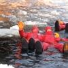 Lapponia: bagno nel baltico ghiacciato