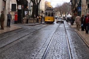 'Electrico', il tram di Lisbona all'Alfama