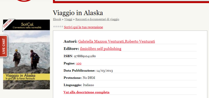 Viaggio in Alaska in Ultima ebook store