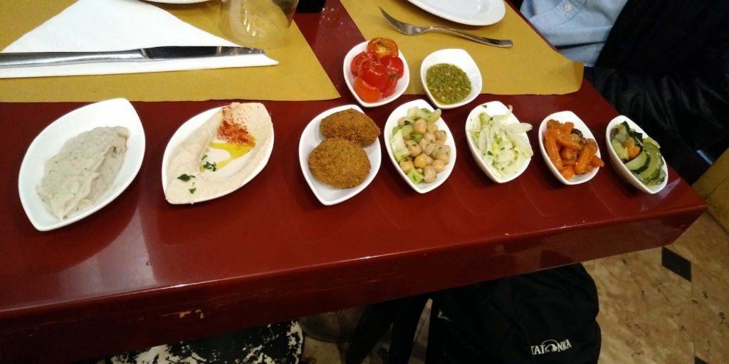 ristoranti kosher venezia selezione antipasti gam gam